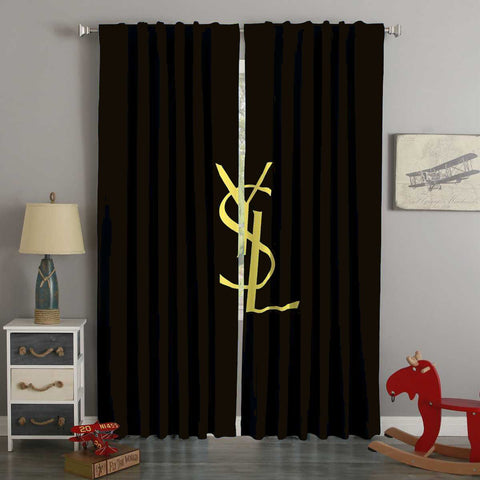 3D Printed Ysl Style Custom Living Room Curtains