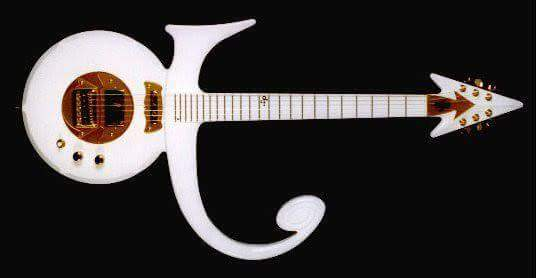 Symbol Guitar White Prn Guitars