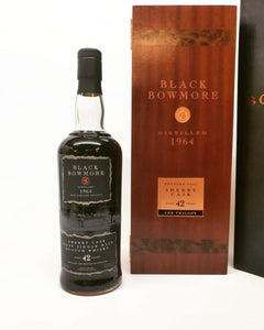 Bowmore Black 42 Year Old 1964 - The Trilogy