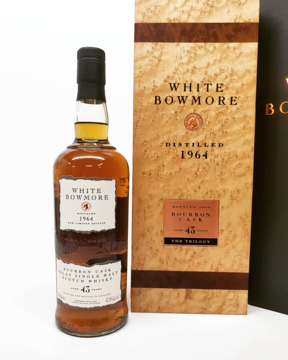 Bowmore White 43 YEAR OLD 1964 -THE TRILOGY