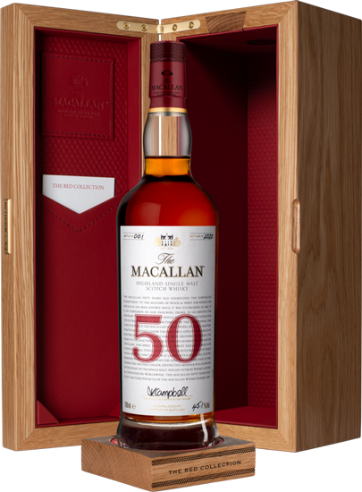 Macallan 50 Year Old Red Collection.