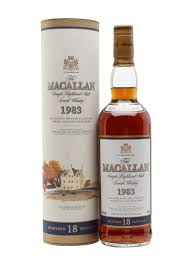Macallan 1983 18 Year Old Sherry Oak
