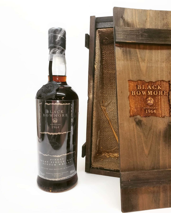 Bowmore 'Black' 1964/1993 (50%, OB, first edition, 2000 bottles)