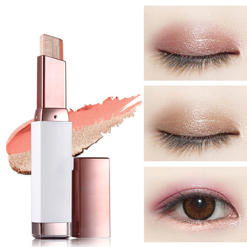 Lazy Girl Double Color Gradient Eye Shadow Pencil Stick