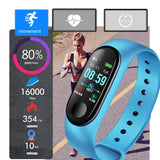 Smart Watch Monitors BLOOD OXYGEN, SLEEP, Heart Rate, Blood Pressure in Addition to Standard Fitness and Social Functions