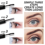 Waterproof Silk Fiber Lengthening Mascara Primer & Mascara