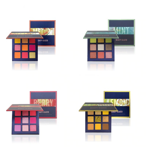 Tasty Long Wearing Waterproof Eye Shadow Palettes in Sumptuous Sorbet Colors
