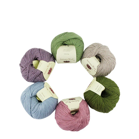 Autumn Wind Cotton Cashmere Yarn