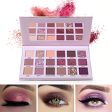 Romantic Rose Gold Palette with 18 Matte and Shimmery Shades