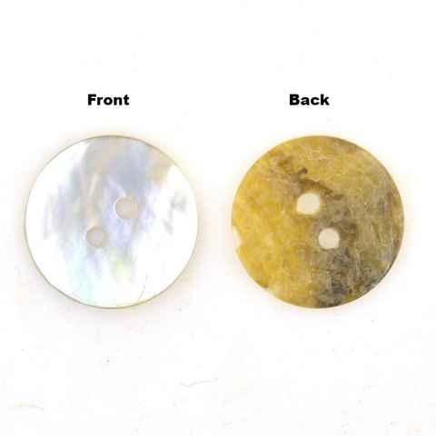 Natural Mother of Pearl Shell Buttons (30 buttons)