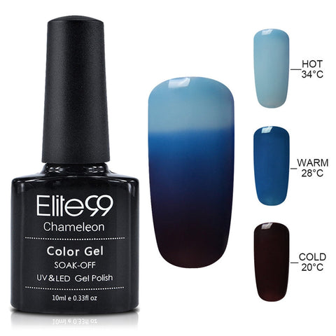 Mood Nail Gel Polish - Color Changes with Temperature