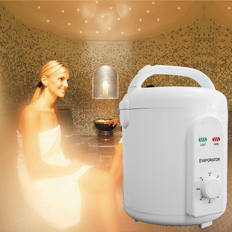 Portable Infrared Sauna Steam Generator with Oxygen Ionizer
