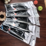 Set of 5 Stainless Steel Circular Knitting Needles Sized 10-15 US (6-10 mm) in Choice of Lengths 17-47 in (43-120cm)