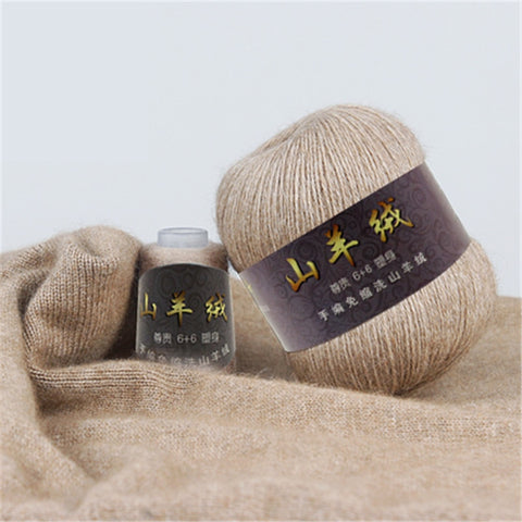 100% Cashmere Yarn in Classic Colors!