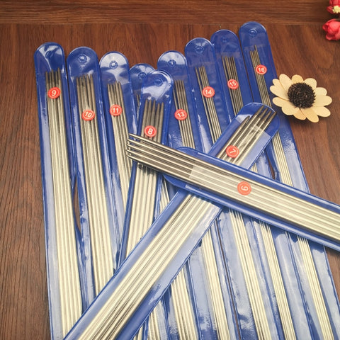 Double Pointed Knitting Needle Set in Sizes 000-8 US  (1.7-5.0 mm)