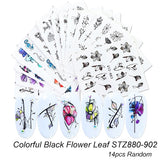 C19 Nail Art Decals in Your Choice of Designs