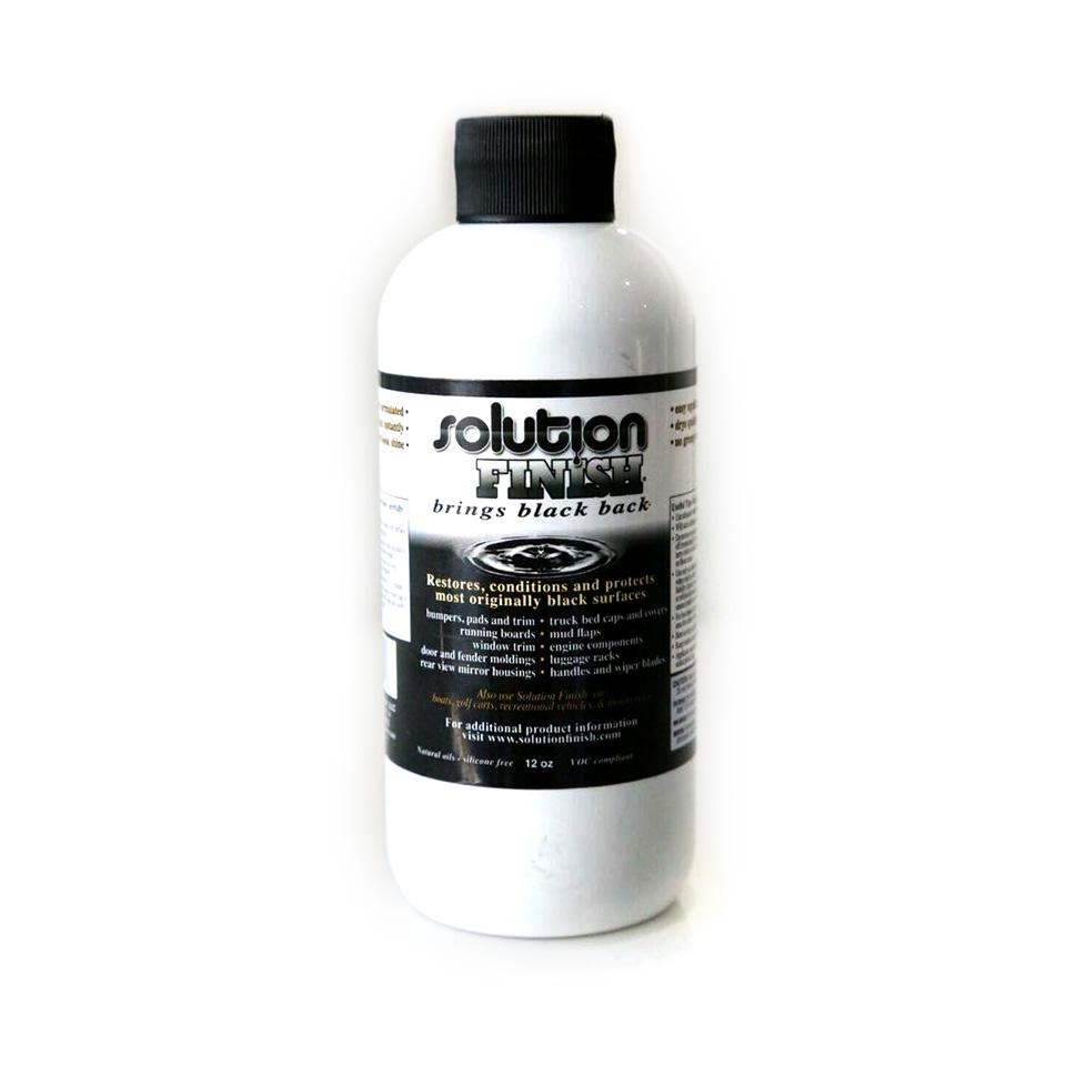 Solution Finish Black Trim Restorer 12oz