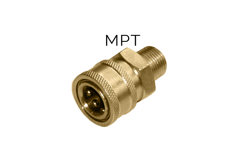 MTM Hydro Coupleur en brass Quick Connect 1/4 Mâle #24.0068 Passion Detailing