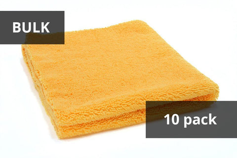 Autofiber [Elite] BULK Edgeless Microfiber Detailing Towels (16 in. x 16 in. 360 gsm) Ensemble de 10