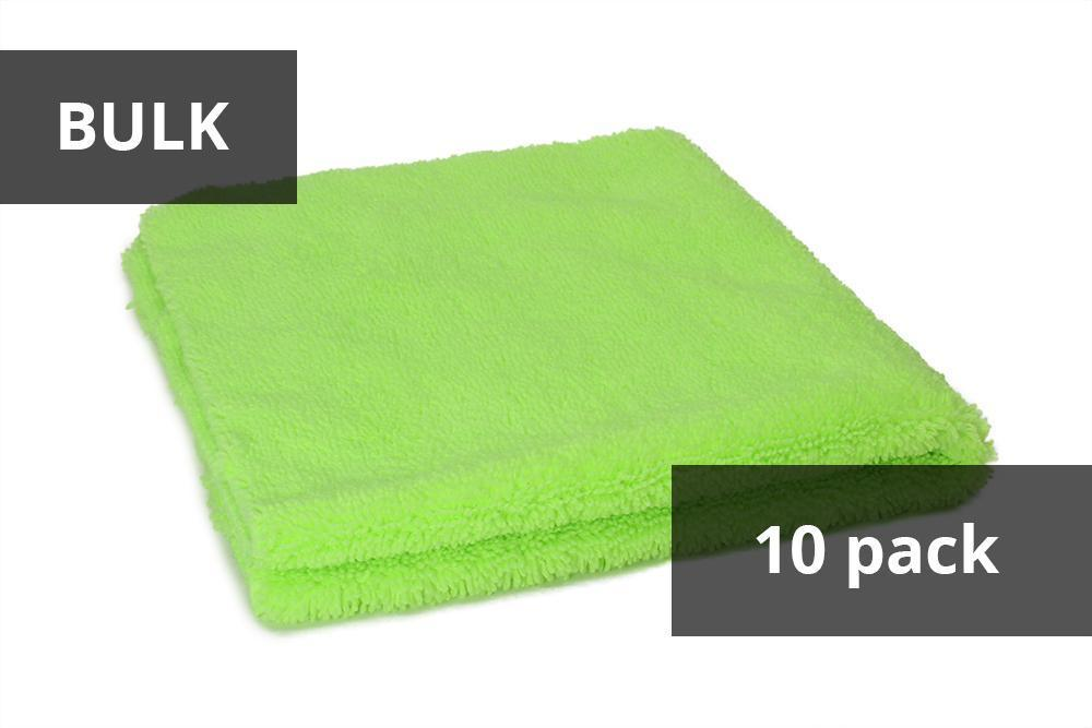Autofiber [Elite] BULK Edgeless Microfiber Detailing Towels (16 in. x 16 in. 360 gsm) Ensemble de 10 Passion Detailing