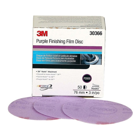 "3M P2000 30366 Disque de Finition 3"" Passion Detailing"