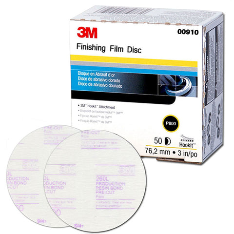 "3M P800 00910 Disque de Finition 3"" Passion Detailing"
