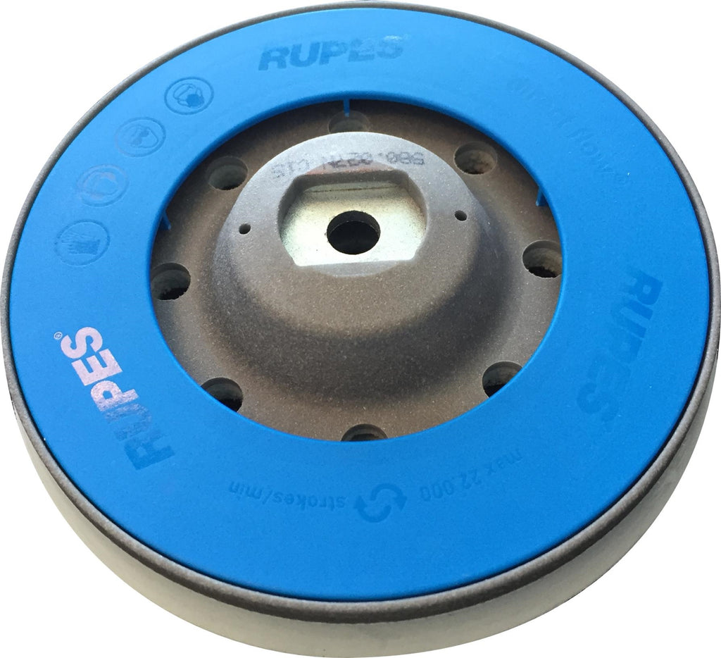 "Rupes 125mm (5"") Backing Plate Bleu (Velcro Fort) Passion Detailing"