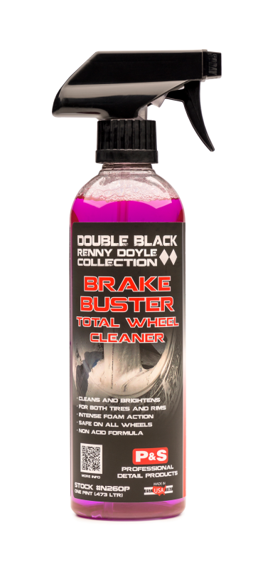 P&S Double Black Brake Buster Non-Acid Total Wheel Cleaner 16oz