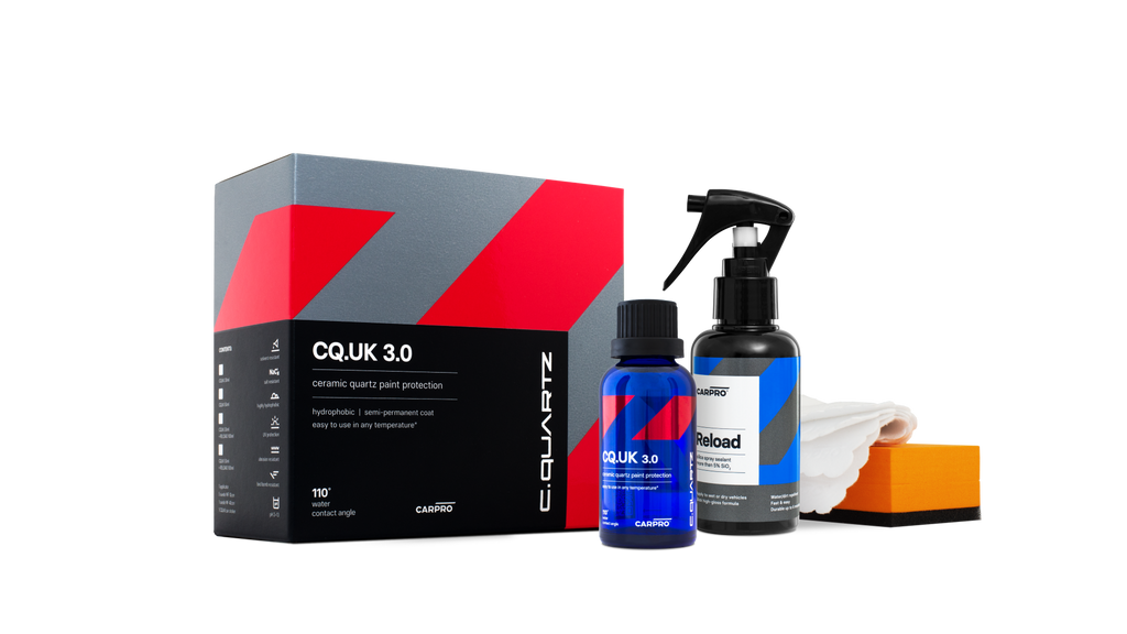 CarPro CQuartz UK 3.0 30mL Kit (Avec Reload) Passion Detailing