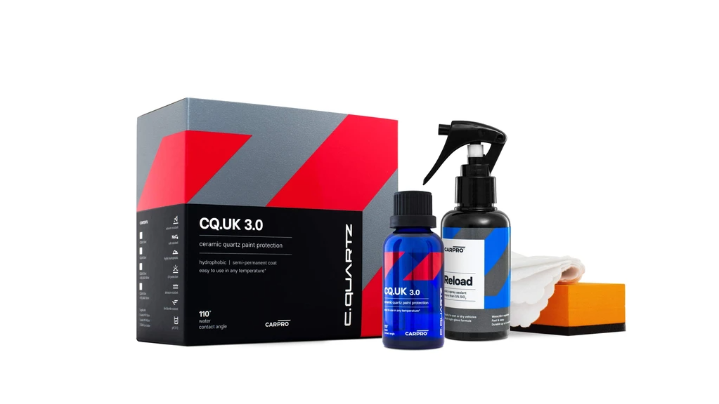 CarPro CQuartz UK 3.0 50mL Kit (Avec Reload)