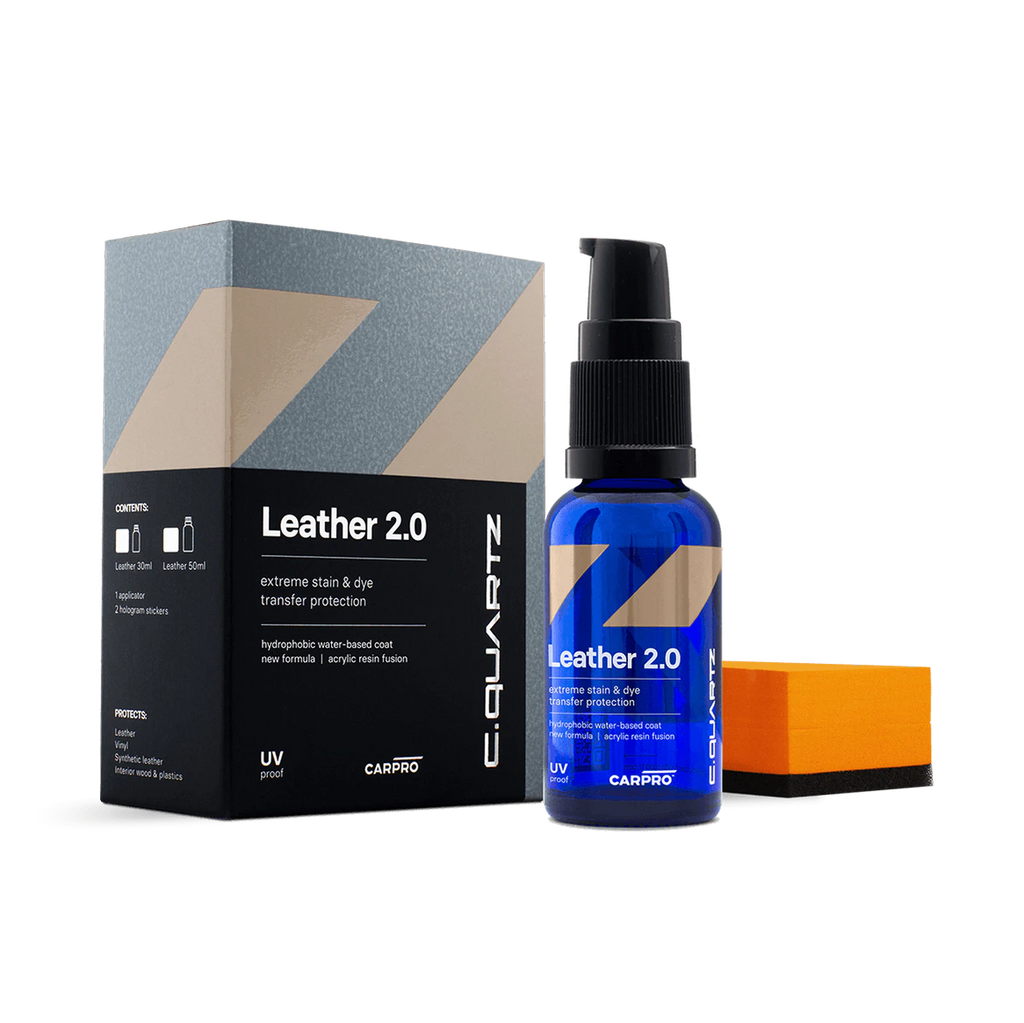 CarPro CQuartz Leather 2.0 30mL Kit