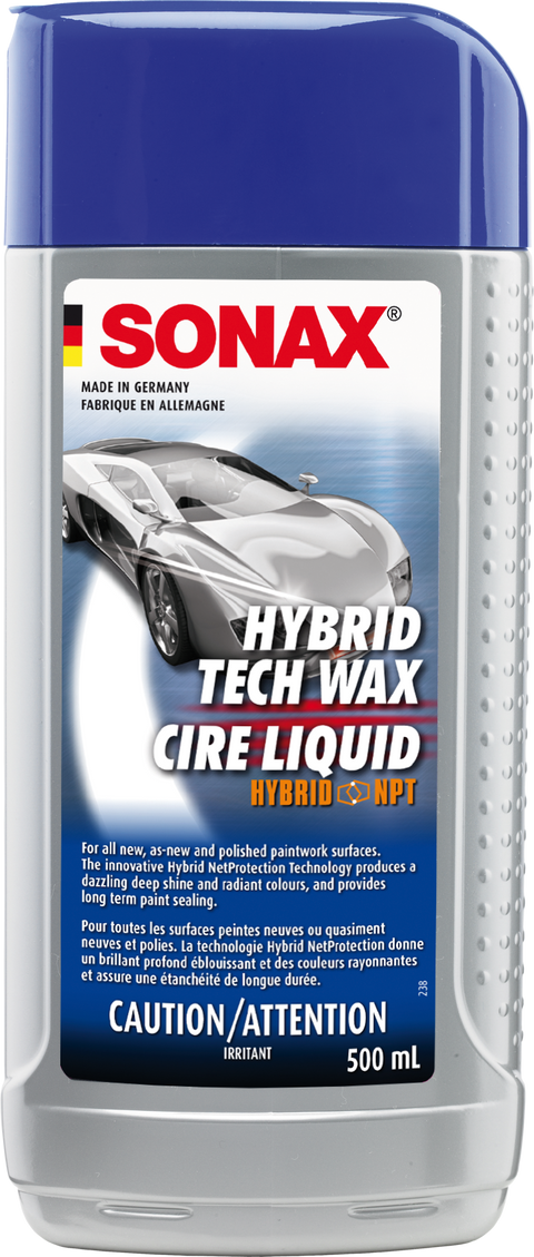 Sonax Hybrid NPT Liquid Wax 500mL Passion Detailing