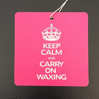 "Waxaddict Sent bon ""Keep Calm and Carry On Waxing"" Passion Detailing"