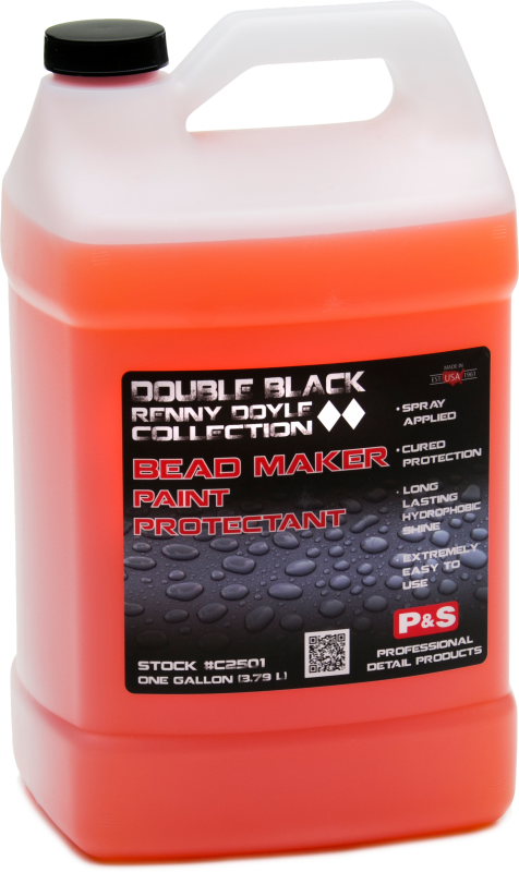 P&S Double Black Bead Maker Paint Protectant 128oz Passion Detailing