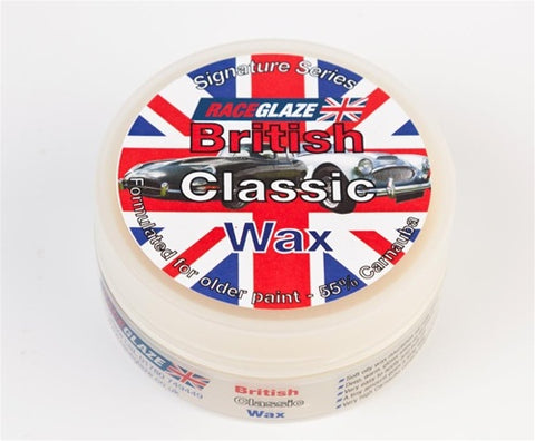 *Liquidation* RaceGlaze UK British Classic Wax 230 mL Passion Detailing