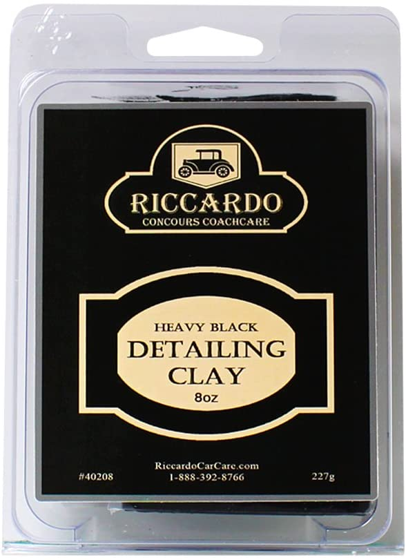 Riccardo Heavy Cut Black Detailing Clay (8oz)