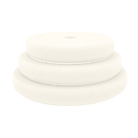 "Rupes 180mm (6.25"") White Ultra-Fine Foam Pad for Rotary Passion Detailing"