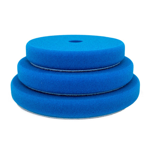 "Rupes 150mm (5.25"") Blue Coarse Foam Pad for Rotary Passion Detailing"