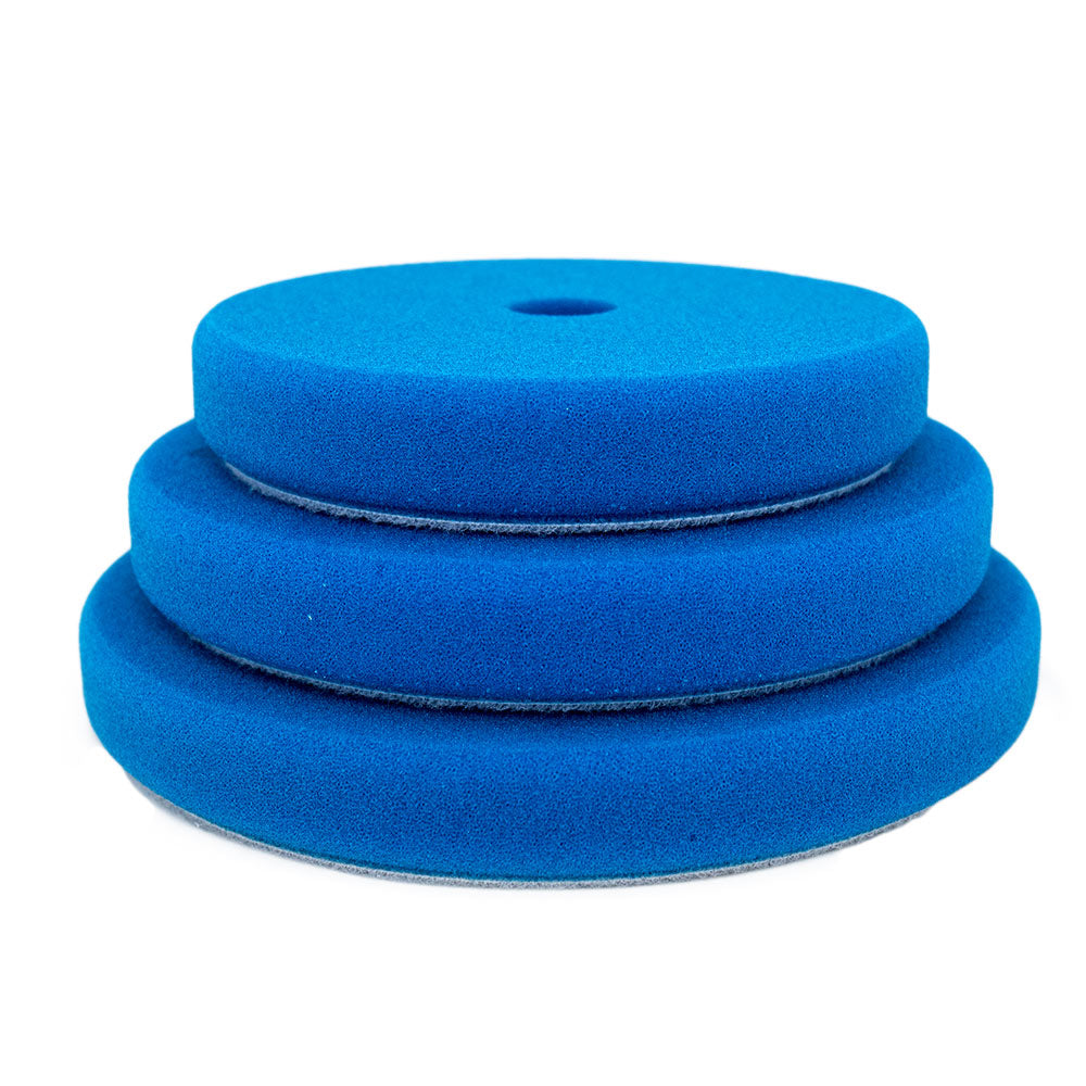 "Rupes 180mm (6.25"") Blue Coarse Foam Pad for Rotary Passion Detailing"