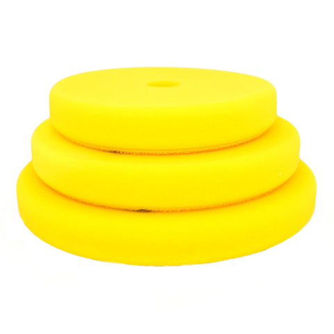 "Rupes 180mm (6.25"") Yellow Fine Foam Pad for Rotary Passion Detailing"