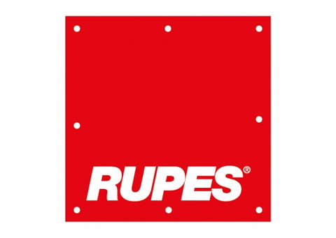 Rupes Vinyl Banner Red (3'x3') Passion Detailing