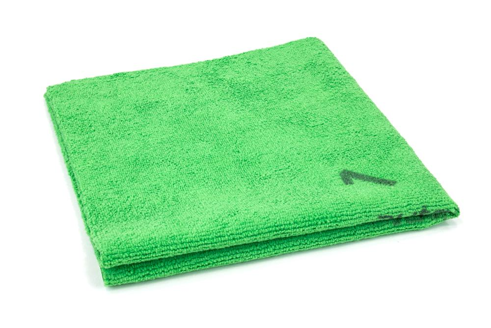 Autofiber [Quadrant Wipe] Microfiber Coating Leveling Towel 390 GSM (16 in. x 16 in.) - 10 pack