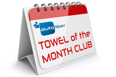 Autofiber [Towel of the Month Club] Une Microfibre par Mois pendant 1an (12 au total)