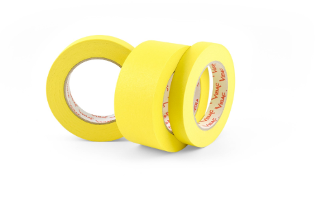 Vibac Superior Performance Masking Tape 313 Yellow 1.5""