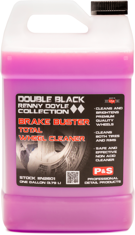P&S Double Black Brake Buster Non-Acid Total Wheel Cleaner 128oz