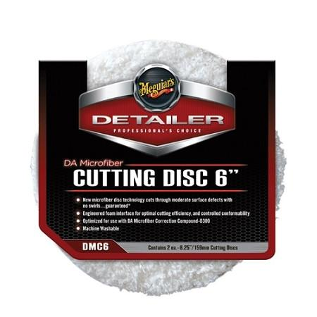 Meguiar's DA Microfiber Cutting Pad 6inch DMC6 (Sold individually) Passion Detailing