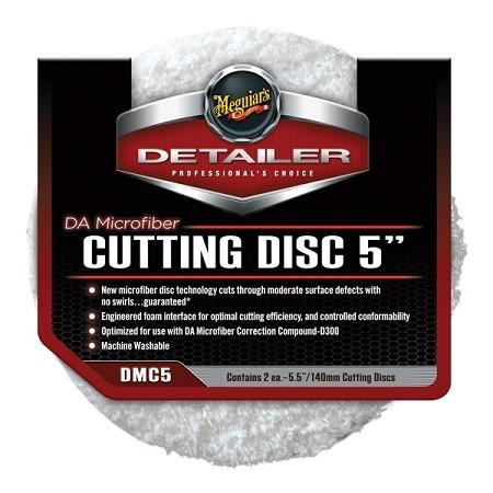 Meguiar's DA Microfiber Cutting Pad 5inch DMC5 (Sold individually) Passion Detailing