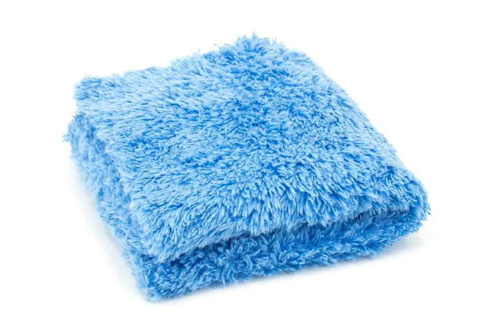 Autofiber [Korean Plush 470 Mini] Microfiber Detailing Towel 8 in. x 8 in., 470 gsm (Ensemble de 10)