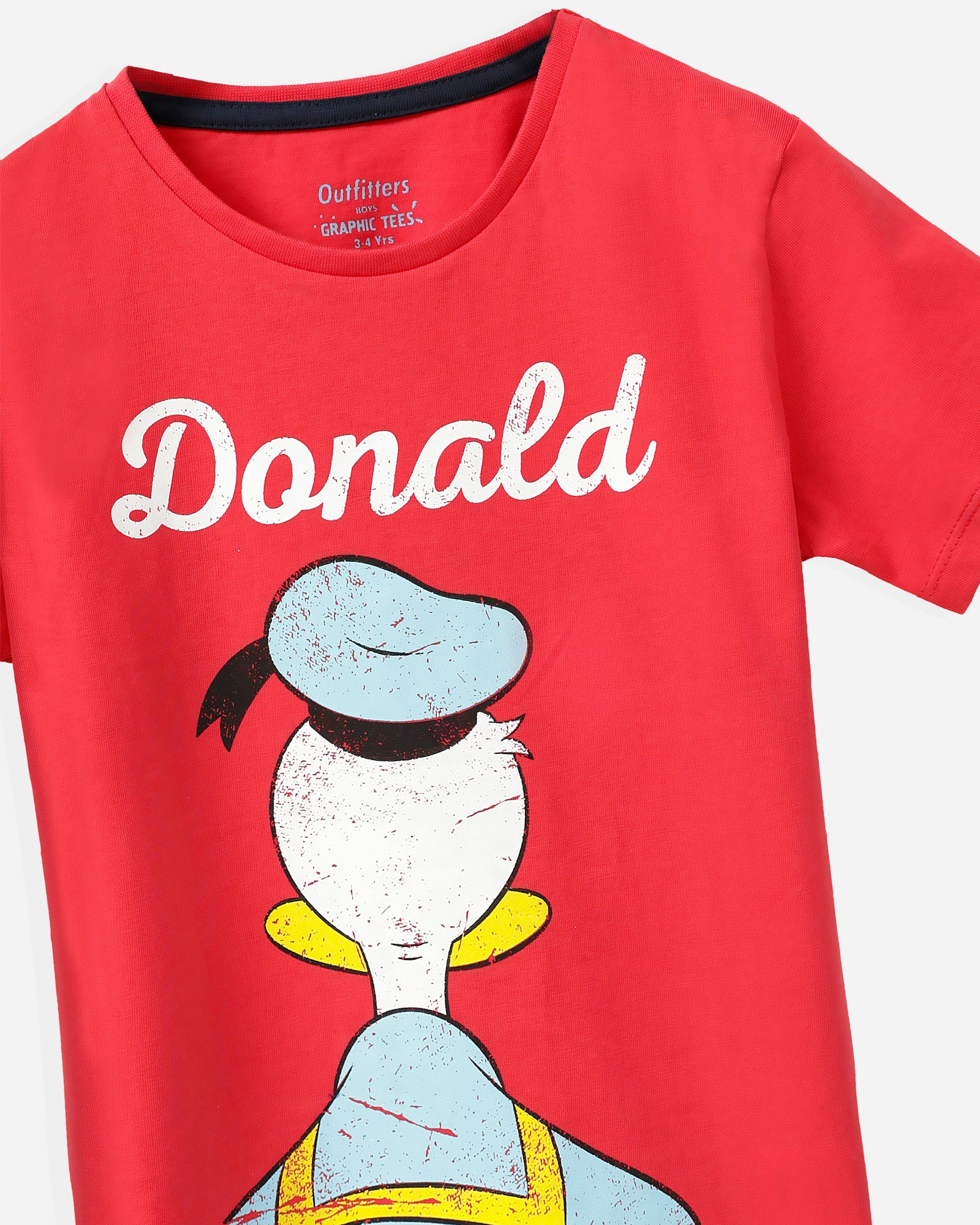 Donald T-Shirt with Shorts