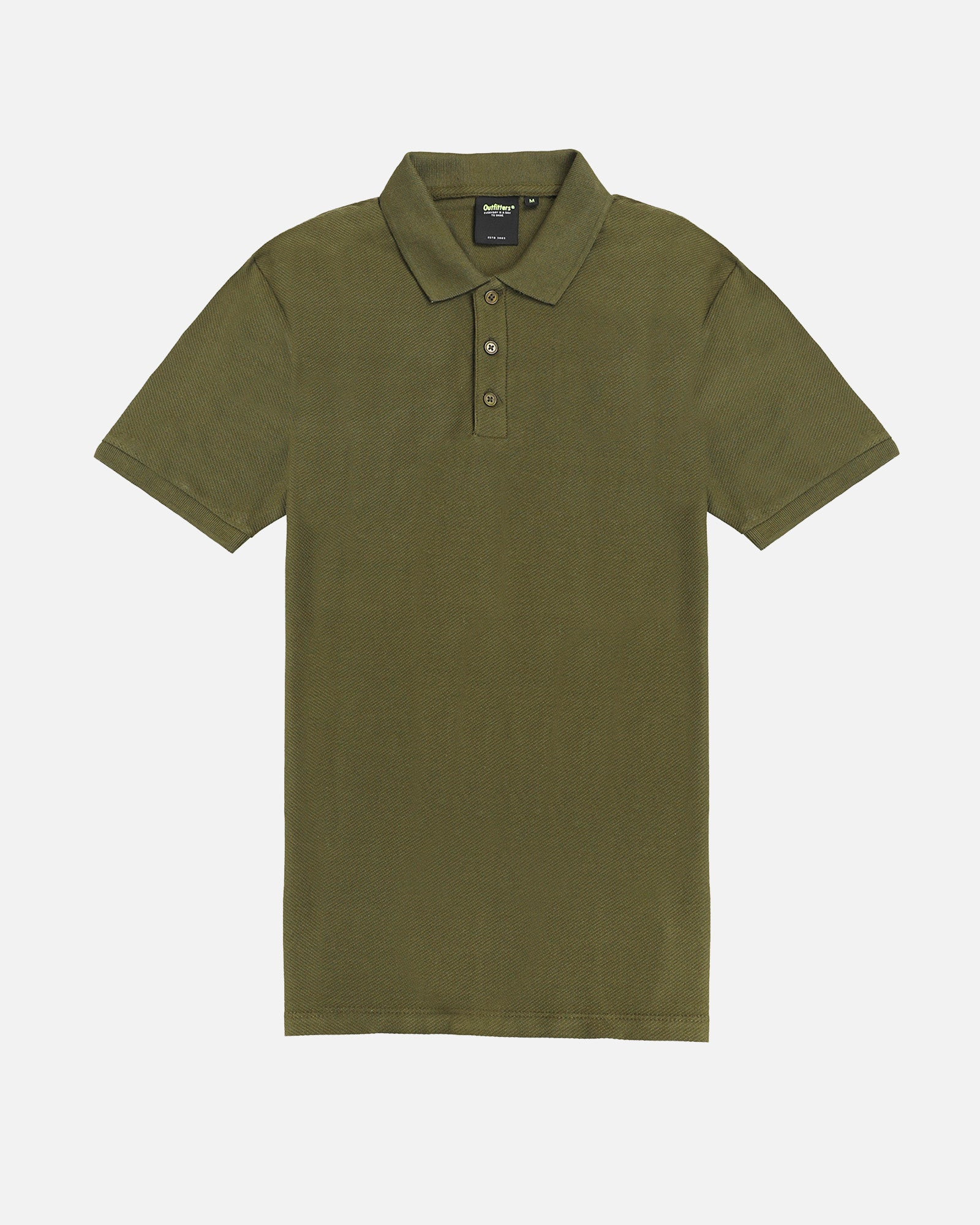 Polo With Twill Texture